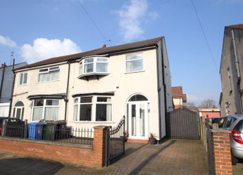 Thumbnail 3 bed semi-detached house for sale in Avondale Road, Stretford, Manchester