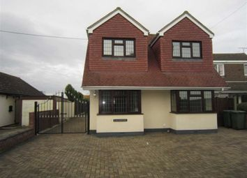 Thumbnail 4 bed detached house to rent in Highlands Crescent, Basildon, Essex