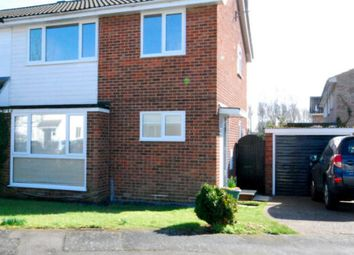 Thumbnail 3 bed semi-detached house to rent in Heron Road, Kelvedon, Colchester