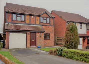 Thumbnail 4 bedroom detached house for sale in Janes Way, Markfield