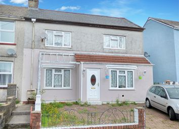Thumbnail 3 bed semi-detached house for sale in Heol Heulog, Evanstown, Gilfach Goch, Porth, Mid Glamorgan