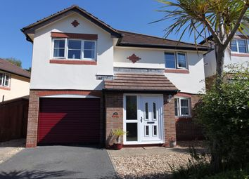 Thumbnail 3 bed detached house for sale in Century Close, St Austell, Cornwall