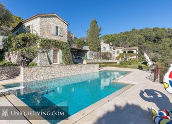 Thumbnail 6 bed villa for sale in La Colle Sur Loup, Vence, French Riviera