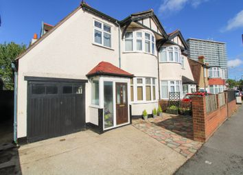 Thumbnail 3 bed semi-detached house for sale in Hook Rise North, Surbiton