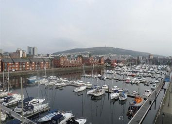 Thumbnail 2 bed flat for sale in Meridian Wharf, Trawler Road, Swansea