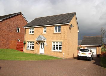 Thumbnail 3 bed detached house for sale in Broomhouse Crescent, Uddingston, Glasgow