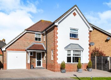 Thumbnail 4 bed detached house for sale in Hillier Place, Chessington