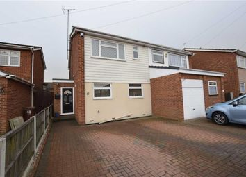 Thumbnail 3 bed semi-detached house for sale in Gideons Way, Stanford-Le-Hope, Essex