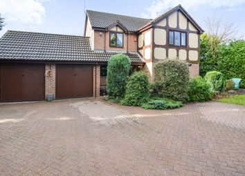 Thumbnail 4 bed detached house for sale in Glebe Court, Stoke-On-Trent, Staffordshire