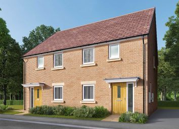 "Thumbnail 3 bed semi-detached house for sale in ""The Carlton"" at Bede Ling, West Bridgford, Nottingham"