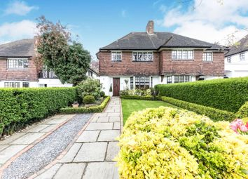 Thumbnail 3 bed semi-detached house for sale in Cornwood Close, London