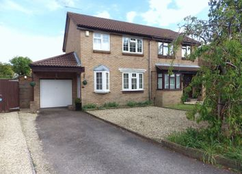 Thumbnail 3 bedroom semi-detached house for sale in Gadshill Drive, Stoke Gifford, Bristol