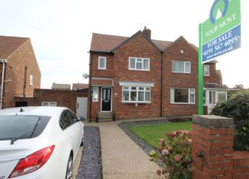 Thumbnail 2 bed semi-detached house for sale in Runnymede, Sunderland, Tyne And Wear
