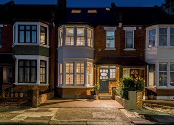 Thumbnail 4 bed terraced house for sale in Holland Road, London NW10.
