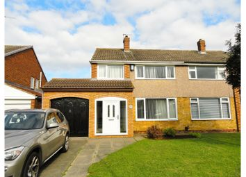 Thumbnail 3 bed semi-detached house for sale in Welland Road, Hartlepool