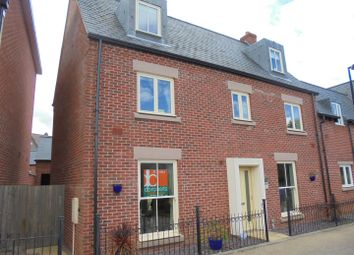 Thumbnail 4 bedroom semi-detached house for sale in Clips Moor, Lawley Village, Telford