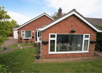 Thumbnail 4 bed detached bungalow for sale in The Rise, Navenby