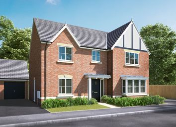 "Thumbnail 4 bedroom detached house for sale in ""The Cottingham"" at Pamington, Tewkesbury"