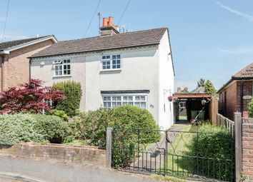 Thumbnail 2 bed semi-detached house for sale in Green Lane, Burwood Park, Hersham, Walton-On-Thames