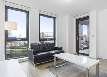 Thumbnail 1 bed flat to rent in Delancey Apartments, 12 Williamsburg Plaza, London