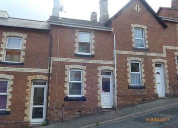 Thumbnail 2 bed terraced house to rent in Western Road, Newton Abbot