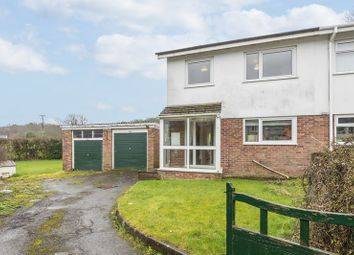 Thumbnail 3 bed semi-detached house for sale in Garth Close, Rudry, Caerphilly