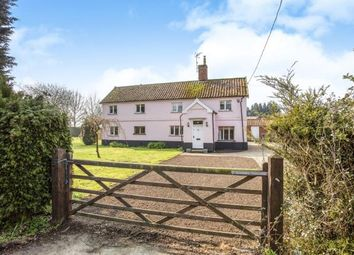 Thumbnail 5 bed detached house for sale in Laxfield, Woodbridge, Suffolk