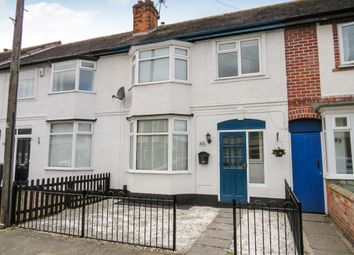 Thumbnail 3 bed terraced house for sale in Percy Road, Aylestone, Leicester