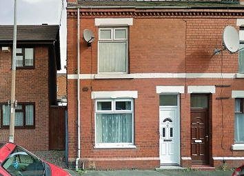 Thumbnail 2 bed end terrace house for sale in Myrtle Street, Crewe