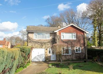 Thumbnail 4 bed detached house for sale in Langley Close, Church Crookham, Fleet