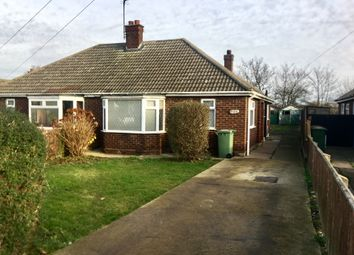 Thumbnail 2 bedroom semi-detached bungalow to rent in Manby Road, Immingham