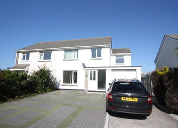 Thumbnail 4 bed semi-detached house to rent in Treloggan Road, Newquay