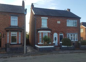 Thumbnail 3 bed detached house to rent in Crook Lane, Winsford