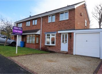 Thumbnail 3 bed semi-detached house for sale in Forge Valley Way, Wombourne, Wolverhampton