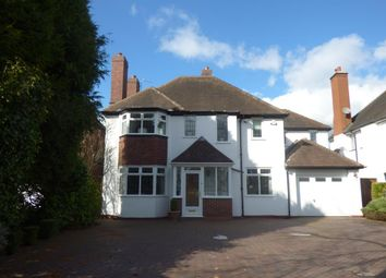 Thumbnail 4 bed detached house to rent in Croftdown Road, Harborne, Birmingham