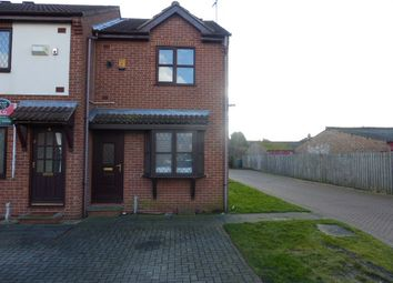 Thumbnail 2 bed end terrace house to rent in Cundall Close, Hull, East Yorkshire