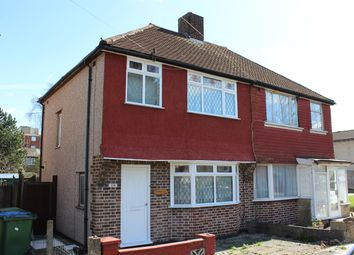 Thumbnail 3 bed semi-detached house for sale in Woodhurst Road, Abbey Wood, London