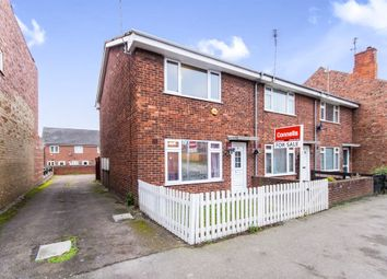 Thumbnail 2 bed end terrace house for sale in Springfield Road, Grantham