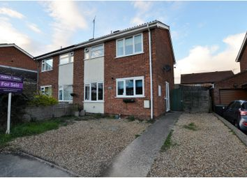 Thumbnail 3 bed semi-detached house for sale in Langham Road, Wellingborough