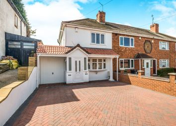 Thumbnail 3 bed end terrace house for sale in York Avenue, Walsall