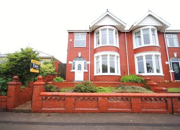 Thumbnail 4 bedroom semi-detached house for sale in Warley Road, Blackpool