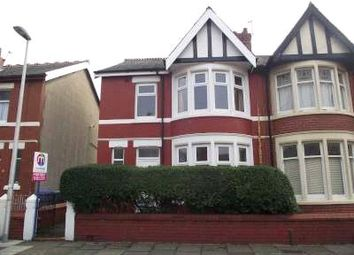 Thumbnail End terrace house to rent in Leckhampton Road, Blackpool