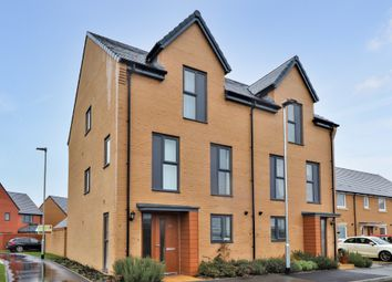 Thumbnail 3 bed semi-detached house for sale in Heron Road, Northstowe, Cambridge