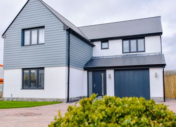 Thumbnail 4 bed detached house for sale in Plot 7 The Carew, Caswell, Swansea