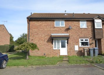 Thumbnail 1 bed terraced house for sale in Brightwell Close, Felixstowe