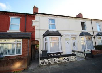 Thumbnail 3 bed terraced house for sale in Cheshire Road, Smethwick, West Midlands