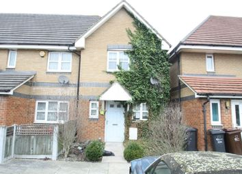 Thumbnail 2 bedroom end terrace house for sale in Seagull Close, Barking, Essex