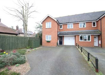 Thumbnail 4 bedroom semi-detached house for sale in Reading Road, East Ipswich, Ipswich