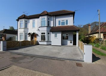 Thumbnail 3 bed semi-detached house for sale in Bellhouse Road, Leigh-On-Sea, Essex