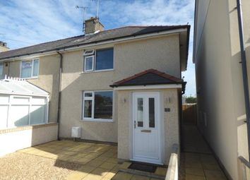 Thumbnail 2 bed end terrace house for sale in Bron Y Graig, Bodedern, Holyhead, Sir Ynys Mon